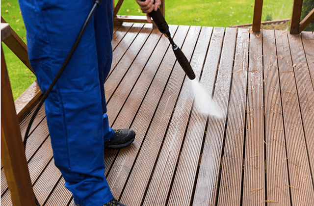 deck cleaning green bay