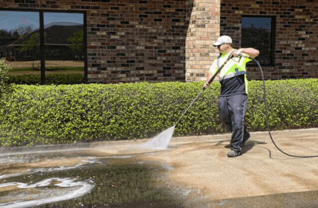 commercial power washing